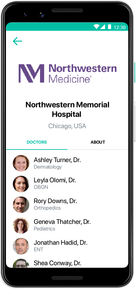 Telehealth Solution for Hospitals | Healee